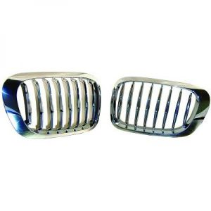 Grille BMW E46 Coupe/Cabrio 98-09/01 Chrome